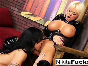 Nikita Von James and nub Jade plumb