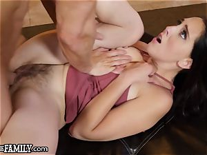 Nagging wife plays mom and demands knob