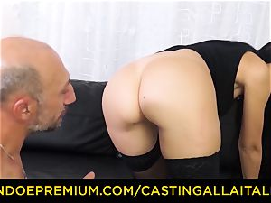 audition ALLA ITALIANA - muddy newcomer assfuck audition