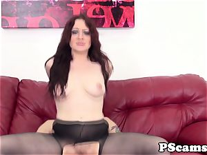 red-haired web cam honey Jessica Ryan pussyfucked