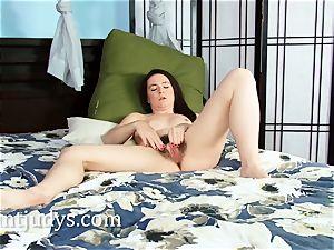 Anna Pierceson milks