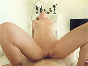 stunner Stella Daniels jammed in the clam