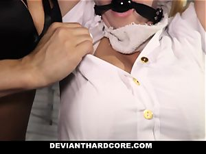 DeviantHardcore - obedient school dame Gets instructed