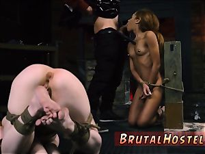 phat harsh wondrous youthfull damsels, Alexa Nova and Kendall woods, take a train-ride to their