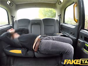 fake taxi crazy sandy-haired hotty in sloppy plumb