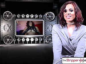 The Stripper experience - Luna starlet her humid tight cootchie