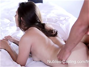 Nubiles casting - hard-core pornography audition for rookie
