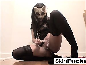 highly horny poon play with skin Diamond