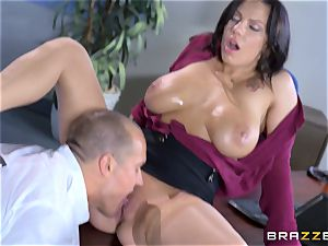 luscious gigantic jugged babe Lylith Lavey getting fucked