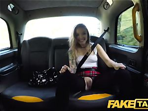 fake cab small Kylie Nymphette fuckbox humped
