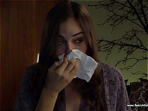 fabulous Sasha Grey bares her small boobies