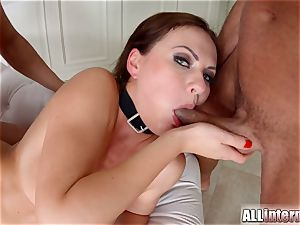 Tina Kay ass fucking group sex internal ejaculation on All inward part 1