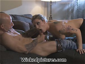 Rampant role play for Bailey Blue and a super-hot fellow