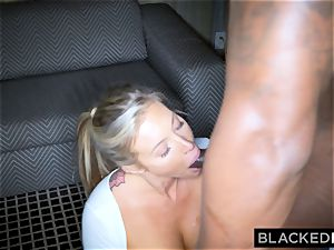 BLACKEDRAW blonde trophy wifey Cucks Her hubby With big black cock