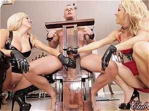 sultry Ms. Alexis Fawx dominates her new subordinated