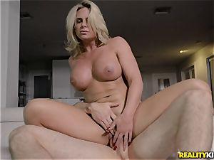chesty blondie Phoenix Marie cuckold pound