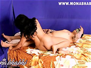 Mona Bhabhi Getting Seduced By Her husband Indian style