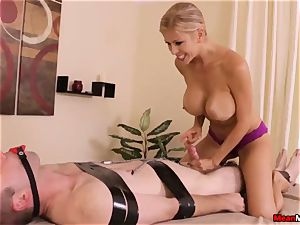 Alexis Fawx gives scorching glad finishing