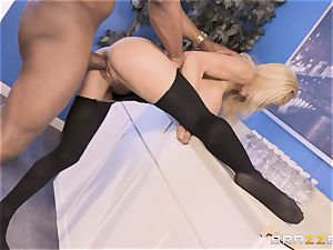 Alexis Fawx penetrated by giant big black cock