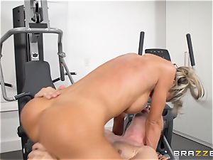 Courtney Taylor massaged and pulverized