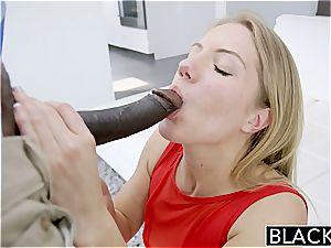 BLACKED Candice Dare butt banged by big dark-hued weenie