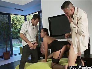 Larissa Dees 3some wish plow