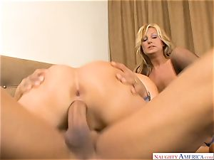 Avy Scott and Val Malone threeway