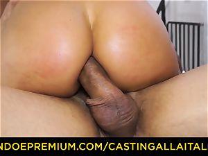 casting ALLA ITALIANA - plucky minx practices utter double penetration